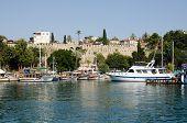 Fortifications, Antalya Harbour, Turkey