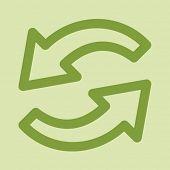 Eco web icon