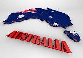 Illustration Of Australia