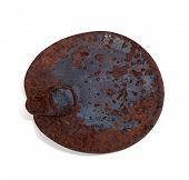 Old Rusty Cap Of Tin Can