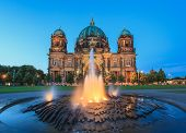 pic of dom  - Berlin Cathedral or Berlin Dom at Germany