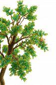 Green Tree Branch  Beads