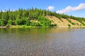 Summer Landscape North Of The River.