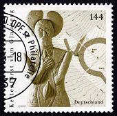 Postage Stamp Germany 2005 Sculpture Of Celtic Prince