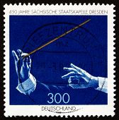 Postage Stamp Germany 1998 Saxony State Orchestra