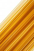 Raw Uncooked Italian Spaghettii Background