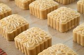 Chinese Moon Cake Ready To Be Cooked
