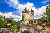 most impressive medieval castles of France - Milandes