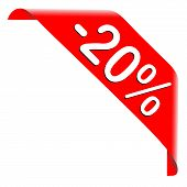 20 Percent Discount Offer