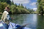 Fishing On The Mckenzie River