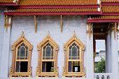 Temple in bangkok,Thailand name wat benchamabophit