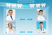 dental web site template