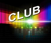 Club Disco Means Membership Audio And Association