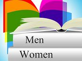 Books Women Shows Woman Female And Lady