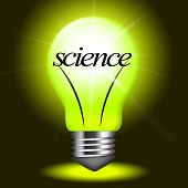 picture of physicist  - Lightbulb Science Representing Physicist Chemistry And Biologist - JPG