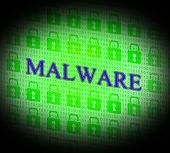 Internet Malware Means World Wide Web And Attack