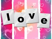 Love Heart Represents Valentine Day And Boyfriend