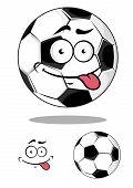 Cartoon soccer or football ball