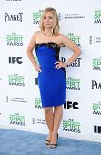 LOS ANGELES - MAR 01:  Kristen Bell arrives to the Film Independent Spirit Awards 2014  on March 01,