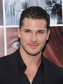 LOS ANGELES - AUG 20:  Gleb Savchenko arrives to the 'If I Stay' Hollywood Premiere  on August 20, 2