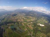 Aerial View - Valais, Vaud