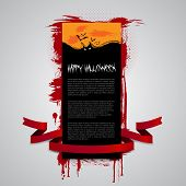 picture of happy halloween  - Halloween Flyer - JPG