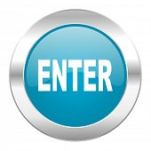 enter internet blue icon