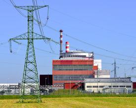 stock photo of reactor  - Reactor of nuclear power plant Temelin  - JPG
