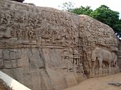 Arjuna Penance, Mahabalipuram, India