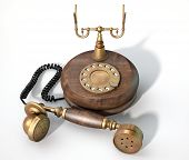 Vintage Telephone Off The Hook