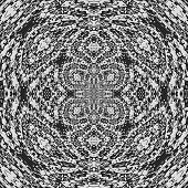 Radial Curtain Lace Generated Texture