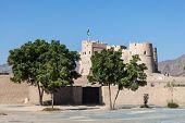 Historic Fort In Fujairah, UAE