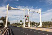 Bridge With Sheikh Portrait, Al Ain, UAE