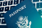 stock photo of citizenship  - Online Travel Planning Concept Photo - JPG