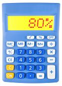 Calculator With 80