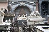 Necropolis In Alexander Nevsky Lavra