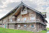 Kizhi. Rural House