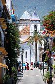 Spanish street, Marbella.