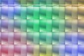 Abstract colored squared background image