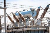 foto of transformer  - Power Station - JPG