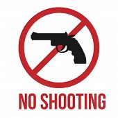 foto of shoot out  - No shooting icon - JPG