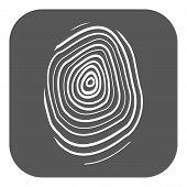 pic of fingerprint  - The fingerprint icon - JPG