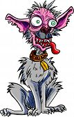 picture of ugly  - Cartoon very ugly dog - JPG