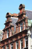 picture of mansion  - Some typical british red brick mansions in London - JPG