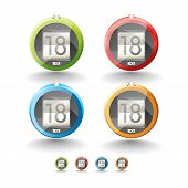 pic of 8-track  - Icons for user interface mobile devices  - JPG