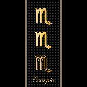 Scorpio Horoscope Symbols
