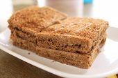 Asian Wheat Toast Bread