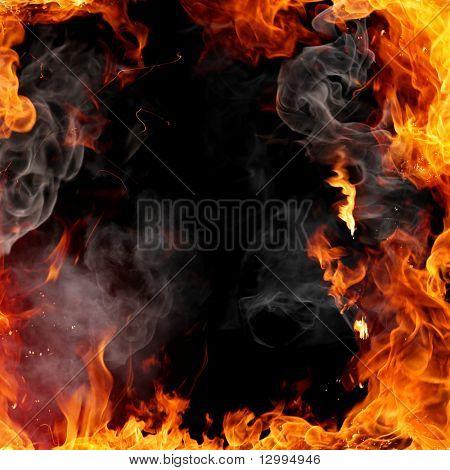 Fire frame Image ID:12994946