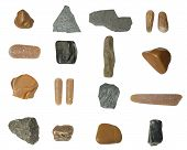 Set Of Isolated Stones