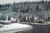 Snowfall On The Freeway
